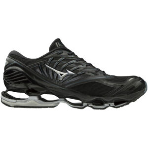 NEW Mizuno Wave Prophecy 8 BLK/SILVER/SWEATHER For Men's J1GC190004