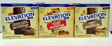 Millville Elevation Protein Bars Carb Conscious 3 Variety Flavors Third Bundle