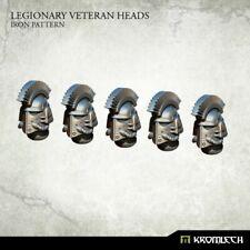 SPACE MARINES Legionary veteran heads iron pattern NEW 40K Kromlech
