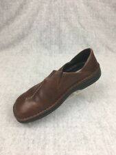 Josef Siebel Womens size 39 (US 8/8.5) Leather Comfort Slip on Flat Brown Shoe
