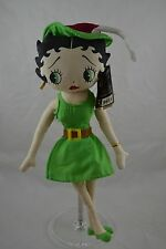 """Betty Boop Plush With Tags and Stand Peter Pan  Betty 18"""""""