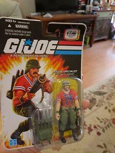 """GI Joe 25th  Sgt. Bazooka 3.75"""" NEW on card see pics"""
