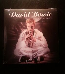 BOWIE--Liveandwell.com-- Ltd CD - Earthling Tour '97 - SOLD OUT new/mint/in hand