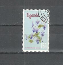 T56 - UGANDA 1969 - MAZZETTA DI 10 FIORI - VEDI FOTO