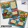 FISHING ~ boy girl PRINTED 2 PREMADE SCRAPBOOK PAGES layout paper ~ BY CHERRY