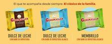 40 Alfajores Guaymallen White, Chocolate or Membrillo 2.6 oz pack of 40 Alfajor