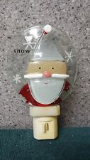 Santa Snow Man night light of Lights in the Night by Cannon Falls made in China