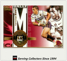 2005 Select NRL Power Honour Roll Card HR2 Karmichael Hunt (Rookie Of The Year)