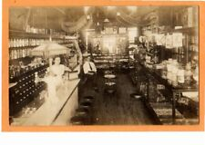 Real Photo Postcard RPPC - Soda Fountain and Candy Counter
