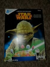 Star Wars Yoda Limited Edition GM Cereal. Box only. 2015 Disney