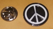 LAPEL PIN BADGE - CND - CAMPAIGN NUCLEAR DISARMAMENT PEACE SYMBOL