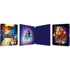 ZAVVI BEAUTY AND THE BEAST STEELBOOK LENTICULAR BRAND NEW IN HAND BLURAY 3D
