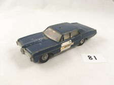 RARE VINTAGE DINKY TOYS #252 PONTIAC PARISIENNE RCMP POLICE CAR DIECAST 1970