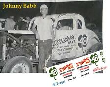 CD_2521 #48 Johnny Babb   1:64 Scale Decals