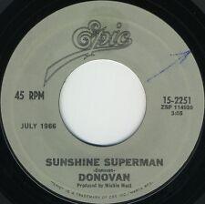DONOVAN Sunshine Superman b/w Mellow Yellow (Reissued U.S. 7inch)