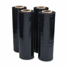 Universal Black Stretch Film, 18w x 1,500' Roll, 20 Mic, 4 Rolls (UNV62120)