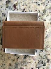 Prince Gardner Brown Leather 6 Key Holder Trifold Original Box Vintage