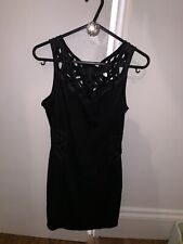 House Of Dereon Beyonce Black Cut Out Dress Size Medium!