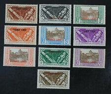 CKStamps: France Stamps Collection French Polynesia Scott#126-135 Mint H OG