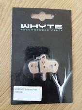 NEW - Whyte VRX834C sintered hydraulic disc brake pads (pair) + spring