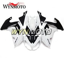 Fairing Kit for Kawasaki Ninja 650 ER6F ER-6F 2012 2013 2014 2015 White Black