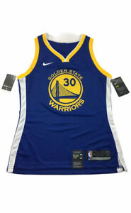 Nike Golden State Warriors Curry Women's M / 40 Swingman Jersey 867034-495