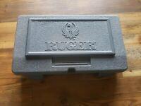 Ruger Vaquero Pistol Case, Original Factory Box with lock and manuals, ring