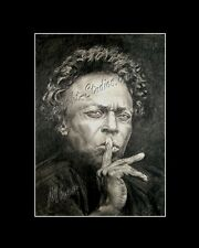 Miles Davis jazz trumpeter bandleader drawing from artist art image piacture