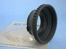 ELECTRA 49mm Collapsible Snap On - PAIR - Rubber Lens Hoods - NOS  -  (OT)