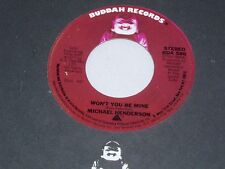 Michael Henderson: Won't You Be Mine / Whip It  [Unplayed Copy]