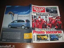 AUTOSPRINT 2003/27=GALLARDO=PEUGEOT 206 RC=RALLY APPENINO REGGIANO/CASENTINO