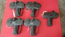 One Avery Dennison 1110 Monarch Price Tagging Gun & Four Monarch Paxar 1130 Guns
