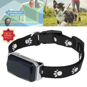 Waterproof GPS Dog Cat Pet Finder Tracker GSM Locator Collar Tracking Alarm SOS