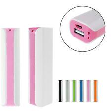 CARICA BATTERIA USB BANK POWER ESTERNA 2600MAh PER SMARTPHONE POWERBANK - B-W ae