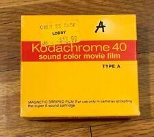 Vintage Kodak Kodachrome 40 - Sound color Movie Film - Type A