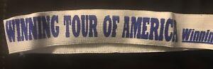 Vintage Bicycle Headband 1980's Winning Club NEW Free US Ship Now Lower $