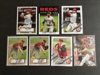 Cincinnati Reds 7 Card Lot 2021 Topps Series 1 Inserts Joey Votto Sonny Gray
