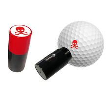 SKULL & CROSSBONES GOLF BALL STAMPER BY ASBRI. FREE POST