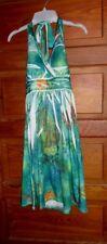 Ingear Sublimation Knit Halter Dress Size Medium Embellished