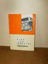FIAT 124 SPECIAL - Instructieboekje / Manuel d'utilisation - 1969