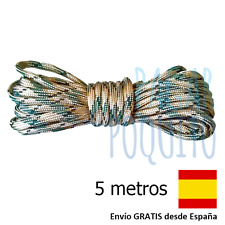 5 metros paracord 550 cuerda pulsera supervivencia cinta 3mm montaña emergencia