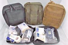 Tactical IFAK Kit STOCKED ODG Survival First Aid Trauma Kit MOLLE Medic Bag.