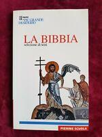 LIBRO BOOK la bibbia selezione di testi mistrorigo antonio Piemme GAT1