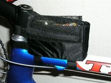 Lunch Bento Box For Top Tube, Holder For Powerbar Powergel And Gu Black