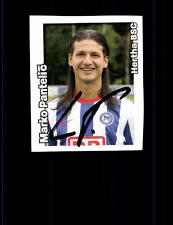 Marko Pantelic Hertha BSC Panini Sammelbild 2008-09 Original Signiert + A 153024