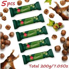 Laima Vaverite Milk Chocolate Bars Praline Hazelnuts, Батончики 5x40g/5x1.41Oz