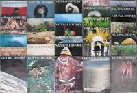 Large Lot of 30 Vintage Issues of NATURAL HISTORY Magazine 1973-1979