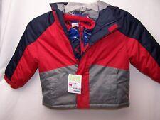 NWT Healthtex  Fleece Jacket Coat RED BLUE Green 3 in 1 New 18 MOS