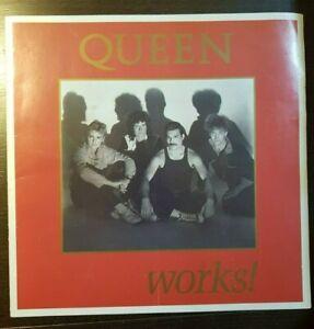 Queen Works Tour Programme