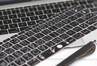 Silicone Keyboard Cover Skin for MacBook Air Pro 13 15 Mac - Space